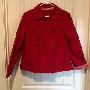 Jackets & Blazers - L. L. Bean Short A Line  Dbl.  Breasted Jacket S